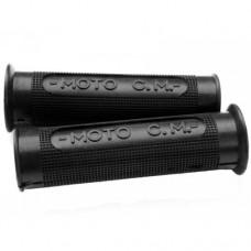 C.M. black rubber handle grip