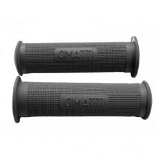Cimatti grey-black rubber handle grip (22-24)