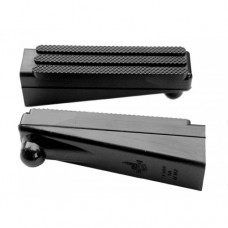 Italjet square engaged rubber foot pegs