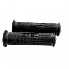 Moto Beta black rubber handle grip