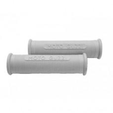 Moto Guzzi Galletto grey rubber handle grip