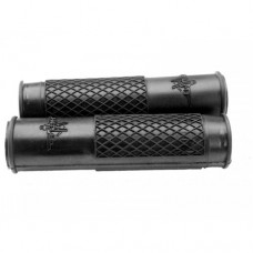 Rumi grey-black-red rubber handle grip