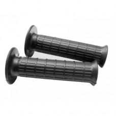Verlicchi black open-close rubber handle grip